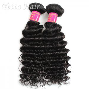 Real Deep Wave Indian 6A Virgin Hair  No Mixed Animal Hair or Synthetic Hair