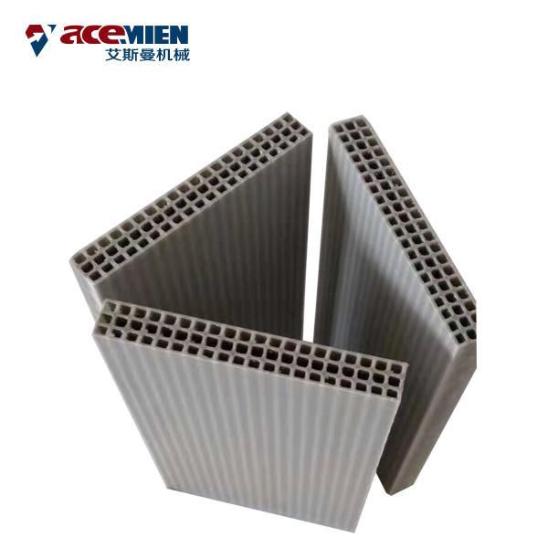 Buy Concrete Wall Extrusion Machine , Hollow Plastic Concrete Formwork Machine at wholesale prices
