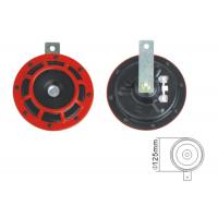 Quality High / Low / Twin Horn Red Car Horn Black Metal Body Distinctive And Stylish Look for sale