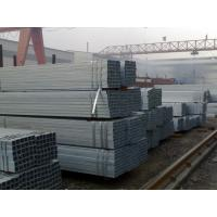 Quality ERW Welding Galvanized Steel Square Pipe / Galvanized Steel Tube for Outdoor Structure for sale