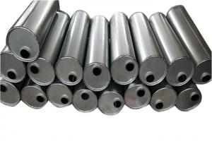 """Quality Round Shaped 7"""" Quiet Flow Stainless Steel Muffler Inlet 2.5"""" Outlet 2.5"""" for sale"""