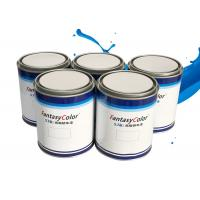 Quality High Brightness Silver Base Coat Paint , Body Filler 1K Tint Base Paint for sale