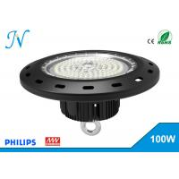 100W UFO LED High Bay Lights AC 90-305V With MEANWELL Driver , High Bay Led Lights