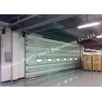 China Vertically Opening Transparent Industrial Garage Doors With Flexible Curtain Shutter Doors on sale