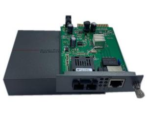 Quality Full Gigabit Unmanaged Industrial Media Converter Transceiver Switch for sale