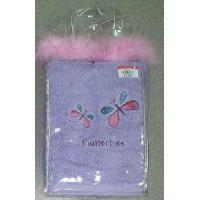 Quality Face Towel With Embroidery Packed in PVC Polybag for sale