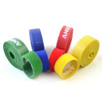 Quality Reusable Double Sided Hook And Loop Tape Compound Hook And Loop For Bundling Cable for sale