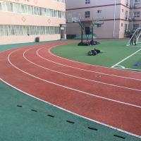 Quality CorrosionResistance Synthetic Rubber Flooring For Sports Court / Public Court for sale