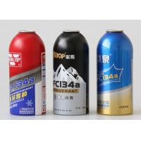 China 350ml Aluminium Spray Can Refrigerant Gas R134a Storage Painted Color on sale