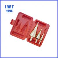 Buy cheap JWT TIN coated hss step drill bit from wholesalers
