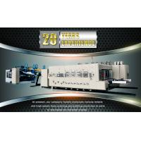 Buy Fully Automatic Carton Making Machine , 380v Electrical Corrugated Box Machine at wholesale prices