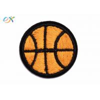 Quality Clothes Accessories Sports Iron On Embroidered Patches , Football Iron On Patch for sale