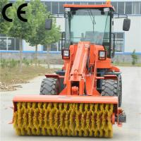 road sweeper truck supplier TL2500 with portable opened sweepers,road sweeper truck
