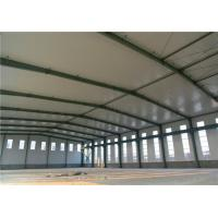 Quality H Section Column Lightweight Steel Structure Clean Span Portal Frame Corrosion Resistance for sale