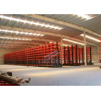 Quality Q235B Steel Cantilever Storage Racks , Selectivity Heavy Duty Cantilever Racking for sale