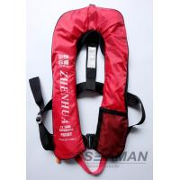 Buy cheap 150N Auto Inflatable Adult Life Jacket Vest With Safety Harness & Lifeline product