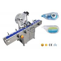 Quality Box Labeling Flat Surface Automatic Label Applicator With Collection Work Table for sale