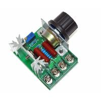 China 2000W 220V AC SCR Electric Voltage Regulator Motor Speed Control Controller on sale