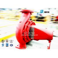 Water Use Horizontal End Suction Centrifugal Pumps 300GPM /125PSI FM Approved