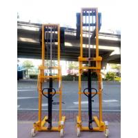 Buy cheap Double mast manual stacker CTY series 1000kg 3000mm hand pallet lifer with high from wholesalers