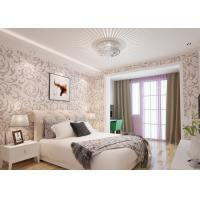 Buy cheap Elegant Non - woven Modern Removable Wallpaper  / Leaf Pattern Wallpaper product