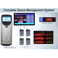 China Modular Design 24VDC Printer QMS Queue Token Management System on sale