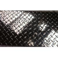 Quality Polished Aluminum Diamond Plate , Coil Metal Tread Plate 1220 x 2440mm for sale