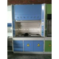 Quality Laboratory Walk In Fume Hood Alkali Resistant Physiochemical Countertop for sale