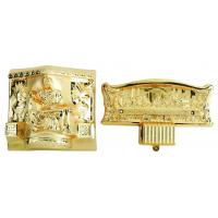 China Christ Type Casket Hardware Kit , PP / ABS Coffin Fittings Suppliers With Steel Bars on sale