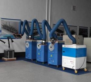 Quality Professional Loobo Welding Fume Eliminator , Welding Smoke Extractors System for sale