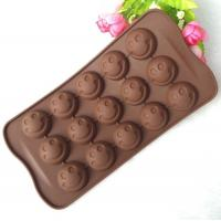 Quality Mini 15 Cavity Silicone Chocolate Molds Personalised Non Stick for sale