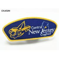Quality Sport Scout Clothing Embroidered Badge Patch Material Twill Recycled for sale