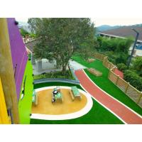Quality 16 Colors Outdoor Play Area Flooring , Fragmented Recycled Rubber Flooring for sale