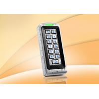 Buy cheap Outdoor Standalone Door Access Control Systems Built In ID Card Reader , Waterproof grade IP68 product