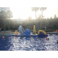 Buy cheap Large Floating Inflatable Aqua Park Water Games With Slide For Outdoor Entertain from wholesalers