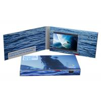 Quality Digital 10 Inch Tft Lcd Video Brochure Card Full Color Printing 128MB Memory for sale