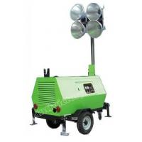 Quality Construction On-site lighting Towers with 3 Cylinder Genset for sale
