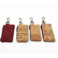 China 2017 Hot Sale Colored/ Natural Cork Coin Pouches with Brass Zipper on sale