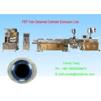 Buy cheap 2016 New Medical Tube Plastic Extrusion Machinery product