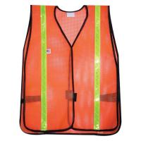 Quality PVC DIPPED COATED POLYESTER MESH FABRIC FOR SAFETY VEST for sale