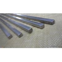 Large Diameter Square Metal Rod , Solid Stainless Steel Bar High Oxidation Resistance