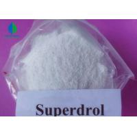 China Real Original Superdrol Powder CAS 3381-88-2 High Purity Bodybuilding Supplements on sale