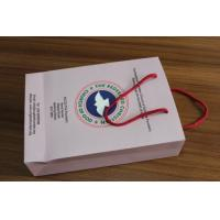 Quality Gloss laminated paper handbag special designed by elegant printing   for sale