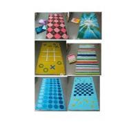 Quality Velour Reactive Printed Beach Towel for sale
