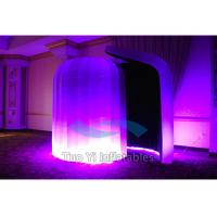 Quality Advertising Portable Blow Up Photo Booth Enclosure With Repair Material Patch for sale