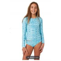 China Swimsuit long-sleeved Surfing Suits Wetsuit Low Waist Two Piece Solid Swimwear Bottom girl Swimwear on sale