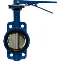 Quality Wafer type API609 Butterfly Valve 2014W  JIS 10K Lever operator / Gear operator (option) High performance butterfly for sale