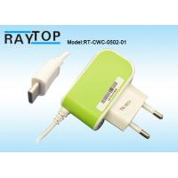 Quality China Manuafacturer 5V 2.1A Mobile Charger 1.2M DC Cable Type C USB Connector for sale