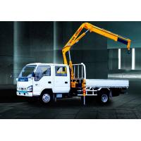 Buy cheap Durable XCMG Knuckle Boom Truck Crane 1400kg Wire Rope Raise from wholesalers