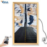 China Realistic Texture Smart Digital Picture Frame , LCD Smart Photo Frame 32 Inch on sale